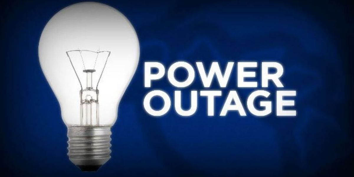 100+ outages reported in Region 8