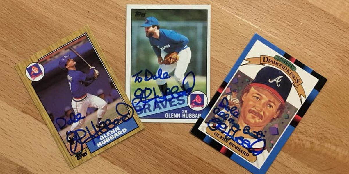Fan receives signed baseball cards
