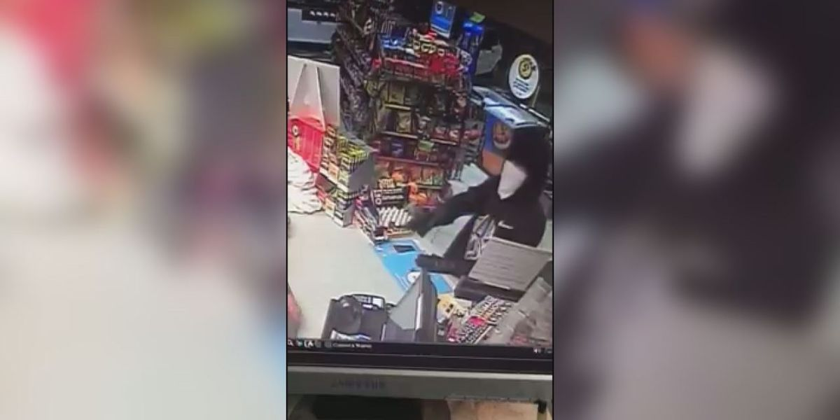 White Co. gas station robbed at gunpoint, search on for suspect