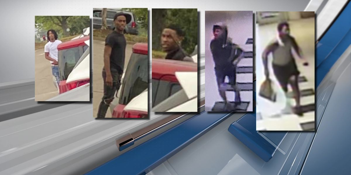5 wanted by police after shots fired at Wolfchase Galleria