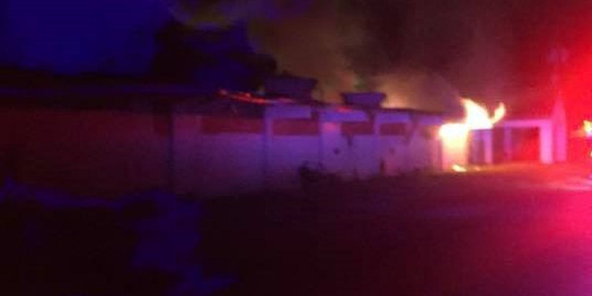 School building in Helena-West Helena catches on fire