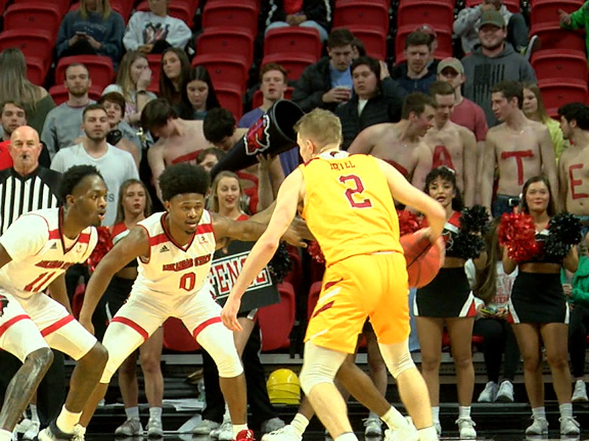 Arkansas State men's basketball falls to ULM, Red Wolves drop 6th straight