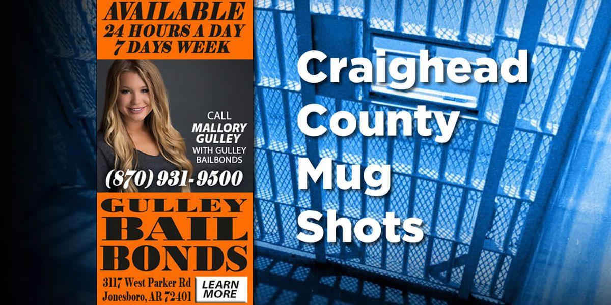 Slideshow: Craighead Co. mug shots, Aug. 26-Sept. 1