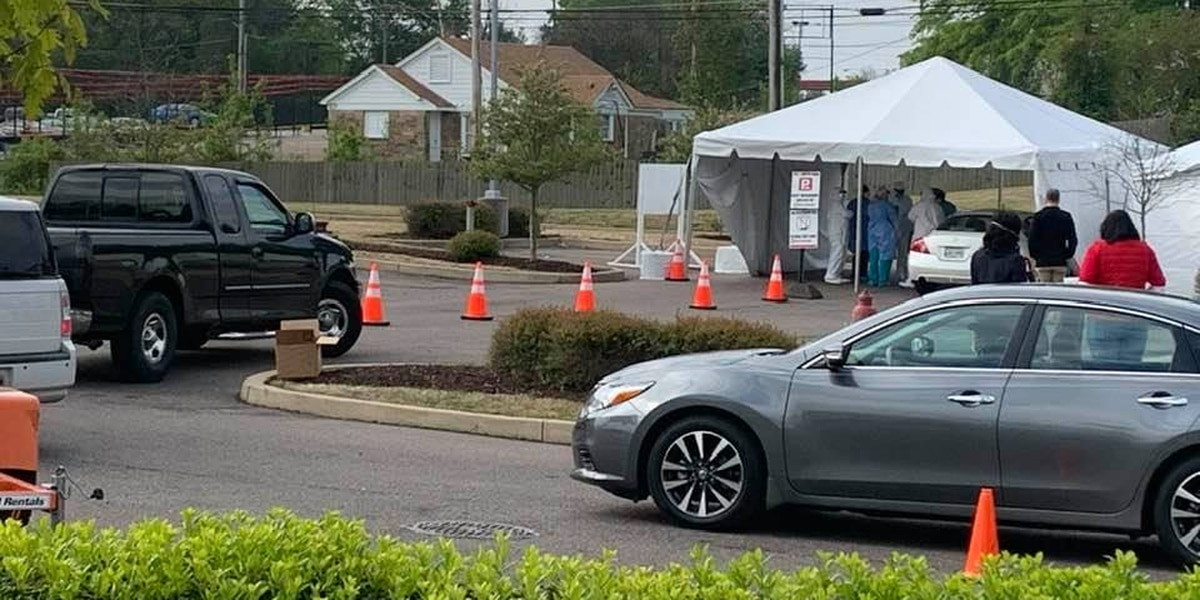 Hundreds tested for COVID-19 in Hickory Hill, Frayser