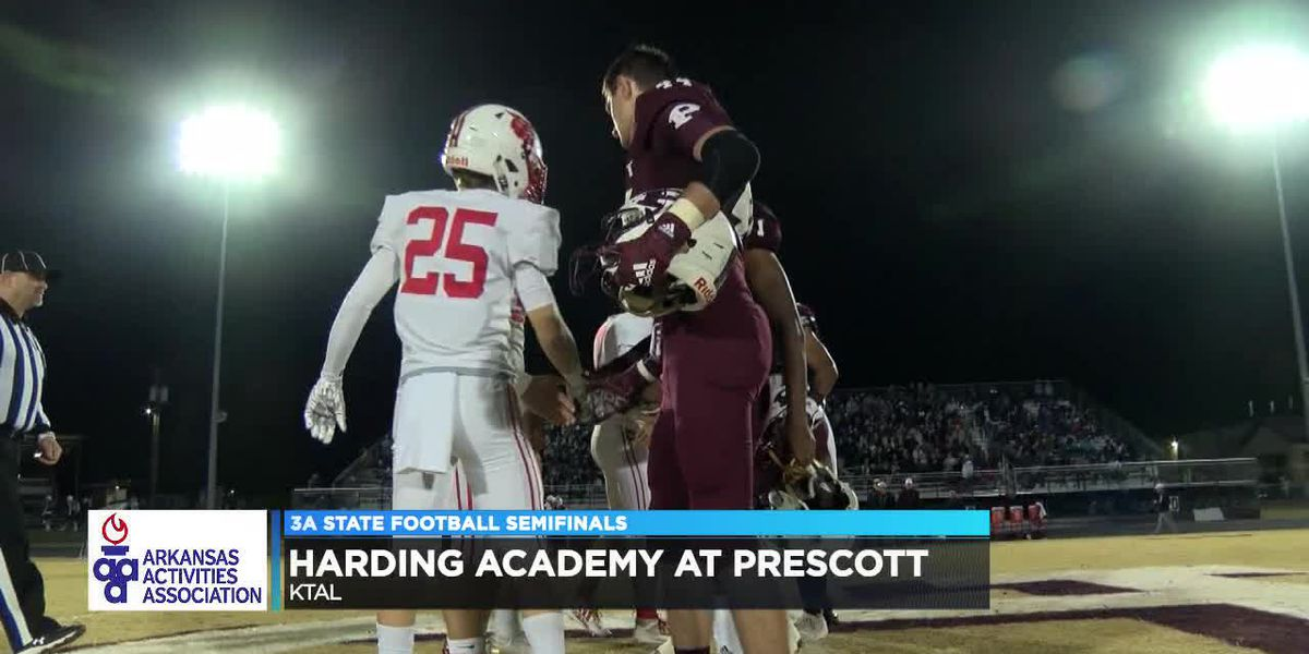 Harding Academy beats Prescott 42-21 to advance to 3A State Championship