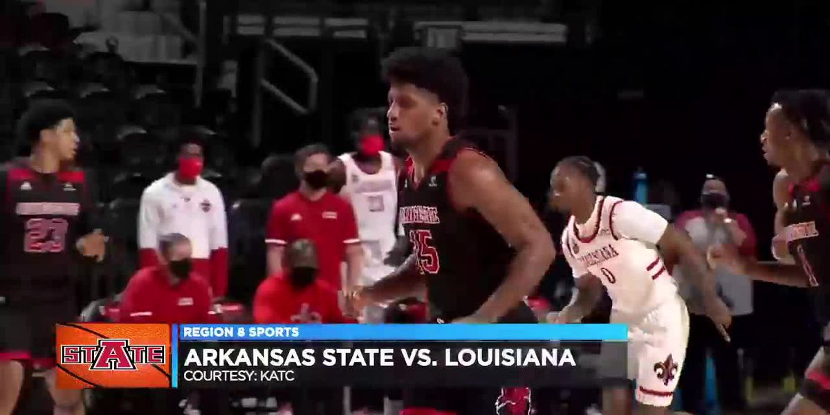 Arkansas State men come up short at Louisiana 77-74