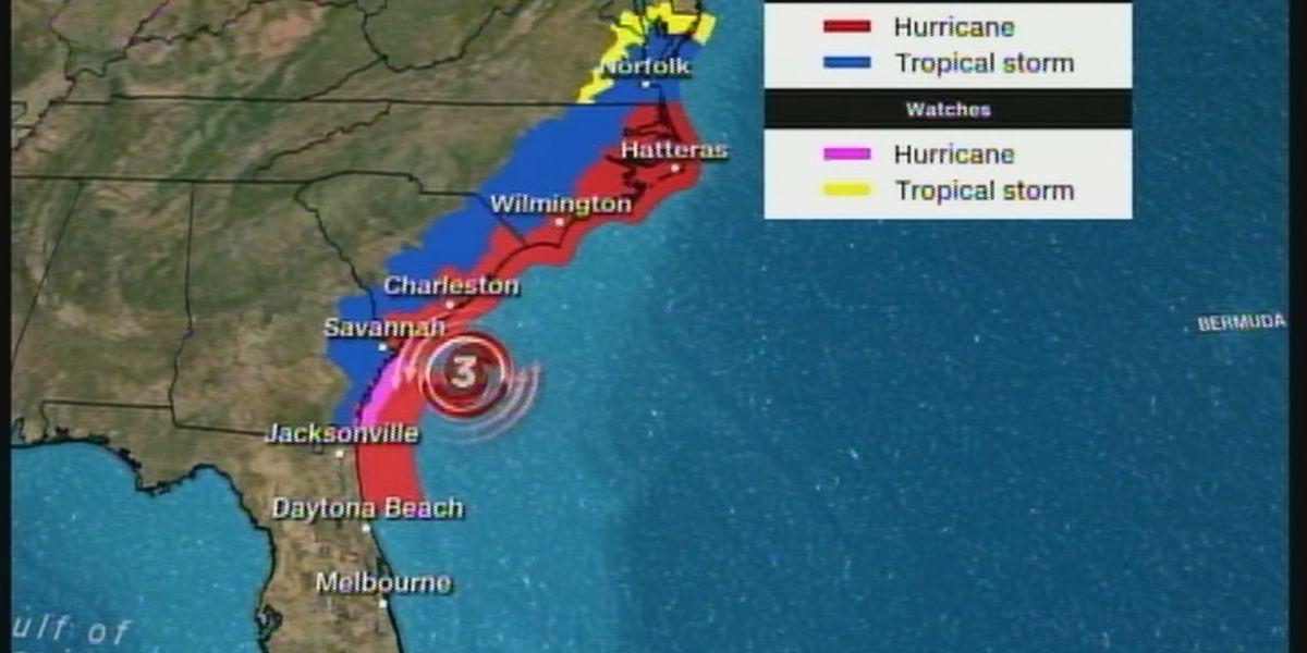 WATCH LIVE: Hurricane Dorian pounding East Coast, plus Little Rock police officer will not get his job back