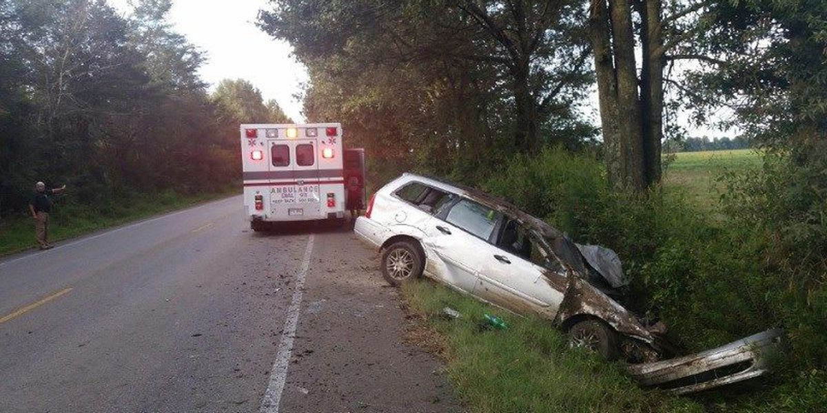 Minor injuries reported in Greene Co. crash