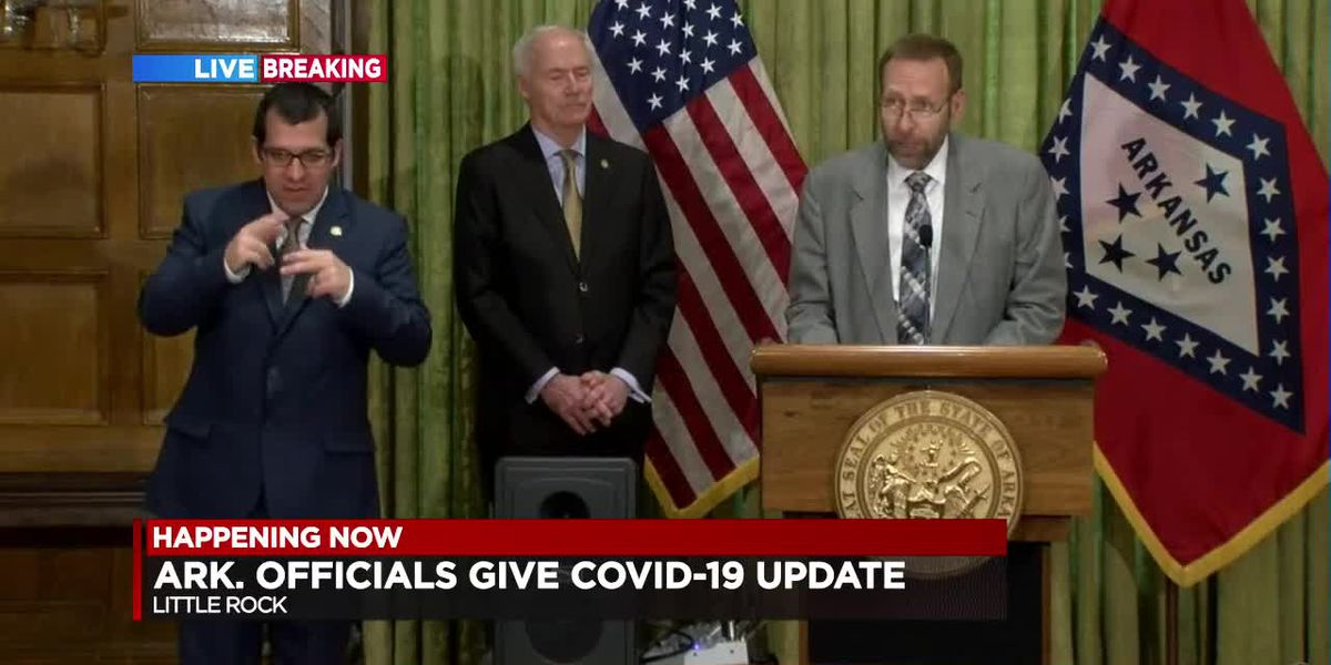 FULL BRIEFING: Gov. Hutchinson's daily COVID-19 update - 4/1