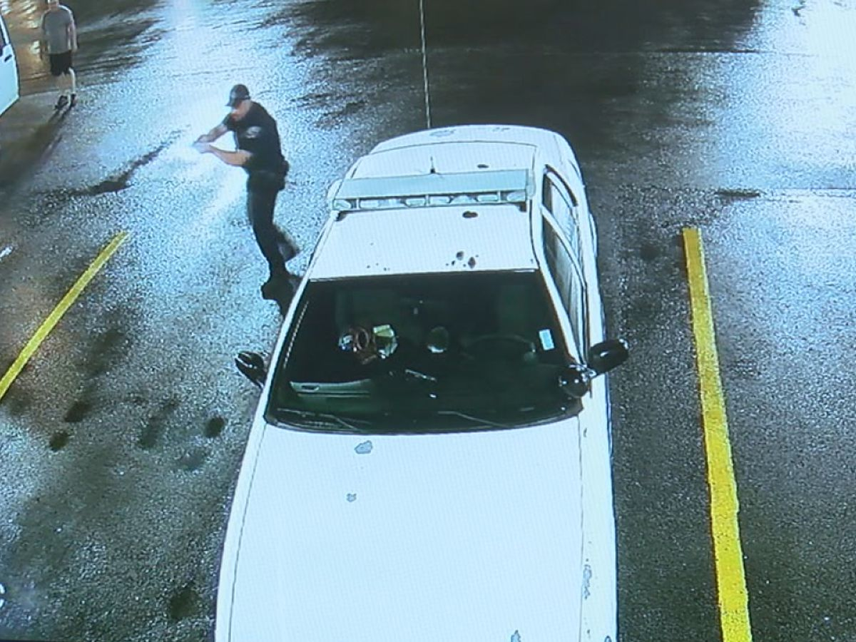 Police: Suspect rammed patrol cars with stolen vehicle