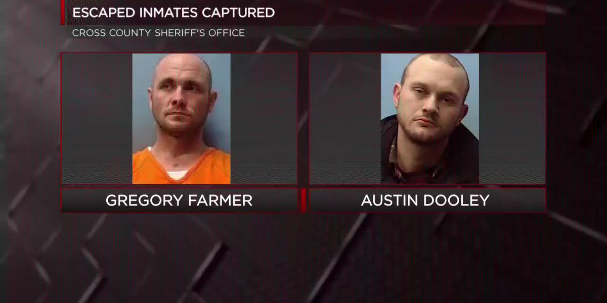 June 11: Escaped prisoners, suspected accomplices in custody
