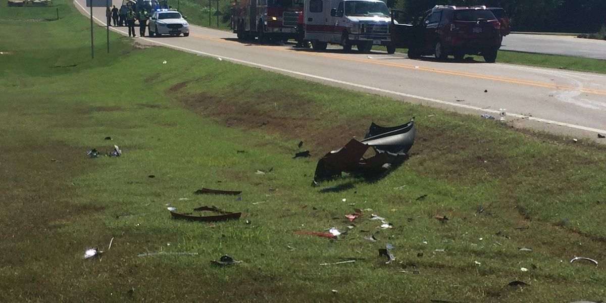 Woman airlifted after crash near Sage Meadows