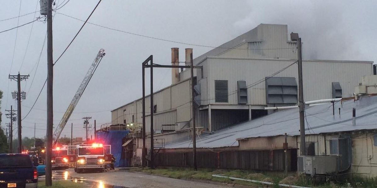 Leak causes fire at Arkansas Glass Container