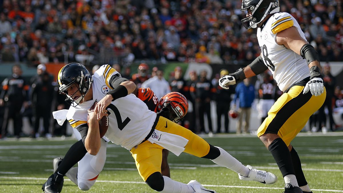 Some on Twitter say it's 'karma' that Pittsburgh Steelers QB Mason Rudolph was benched