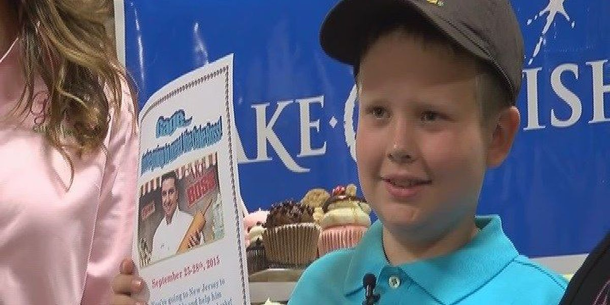 Make-A-Wish grants a wish to meet Cake Boss