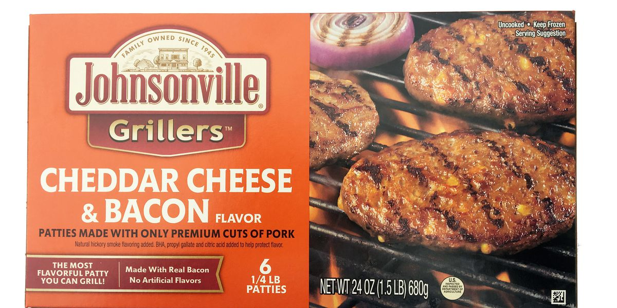 Johnsonville recalls frozen pork patties that may contain rubber