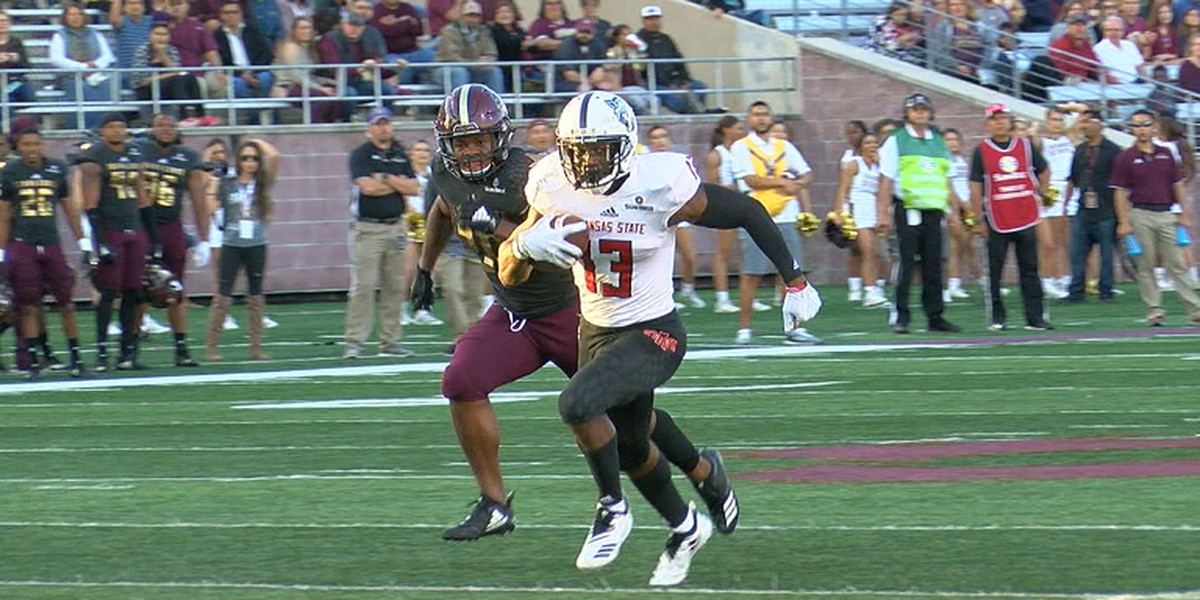 Arkansas State WR Dahu Green & Kirk Merritt on Senior Bowl radar