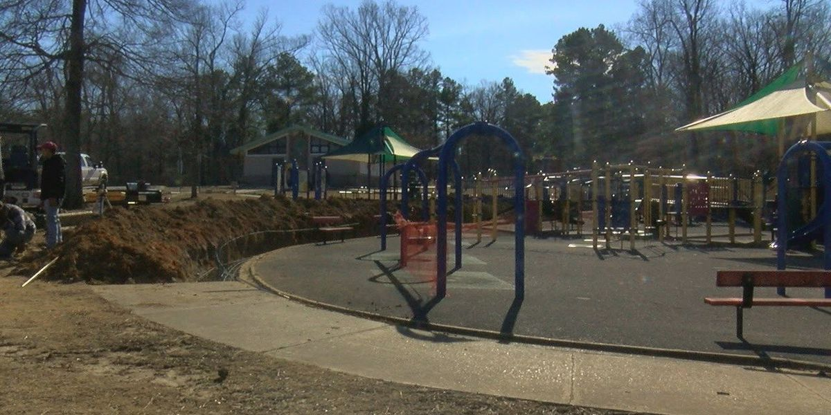 Construction project begins at Rotary Park