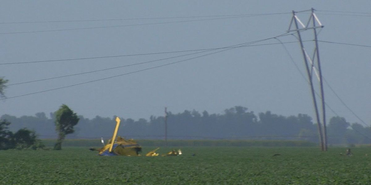UPDATE: Pilot in fatal crop duster crash identified