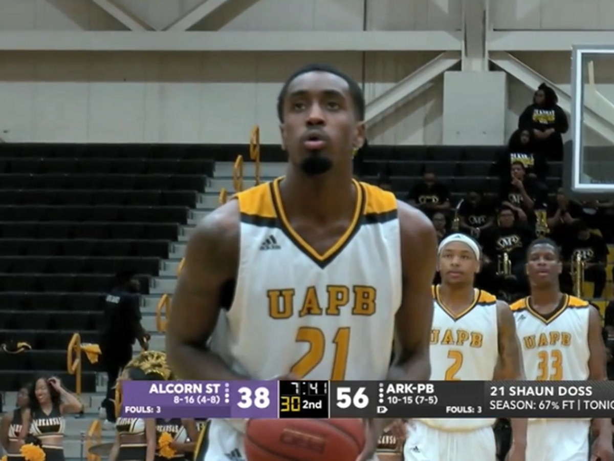 Marion alum Shaun Doss drops 25 pts as UAPB beats Alcorn State