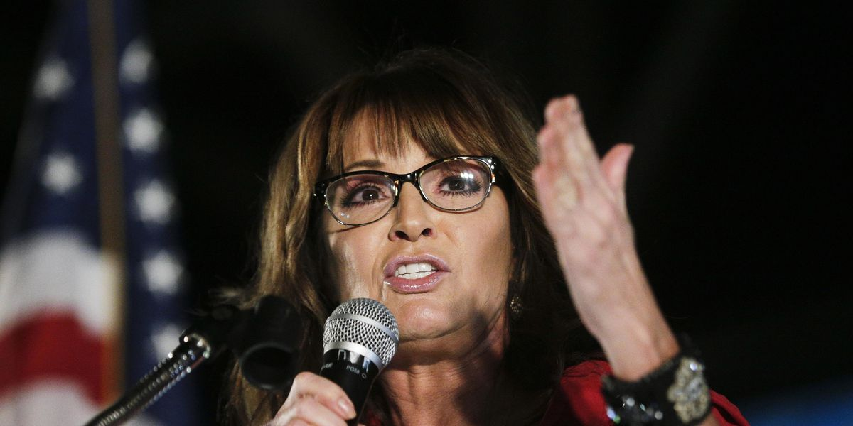 Palin confirms COVID-19 diagnosis, urges steps like masks