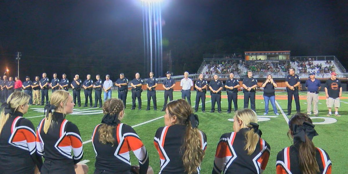 Newport heroes honored under Friday Night Lights