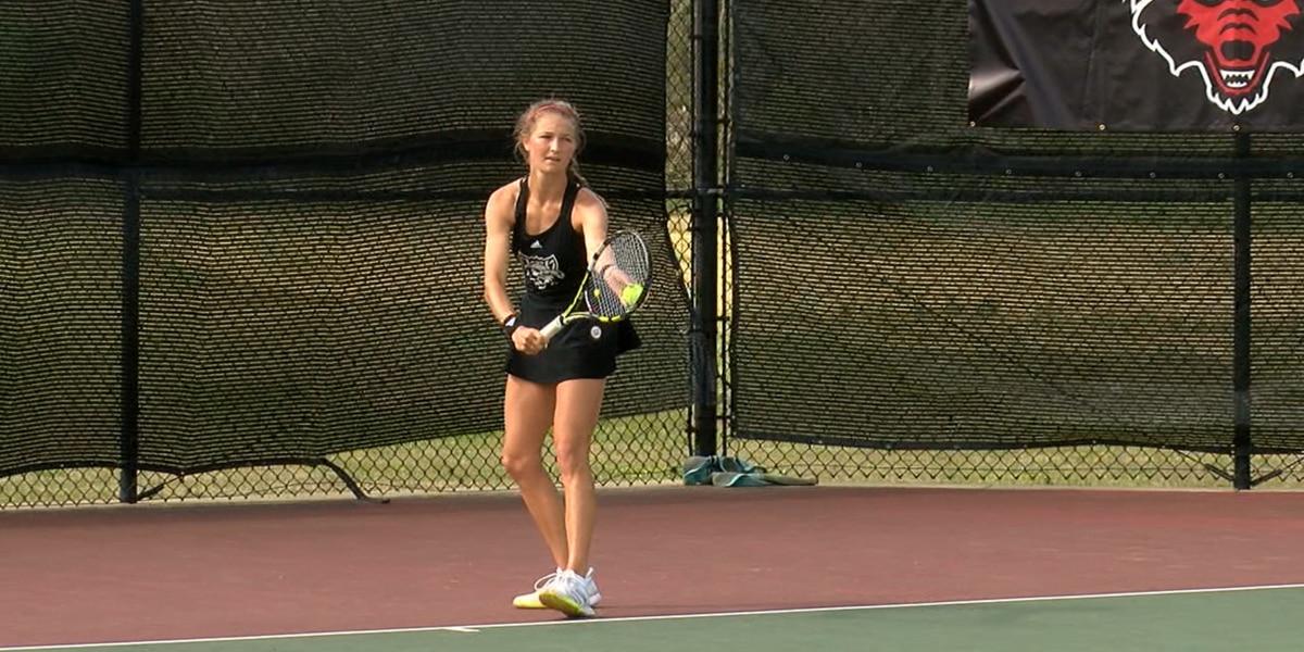 Arkansas State women's tennis falls to Louisiana