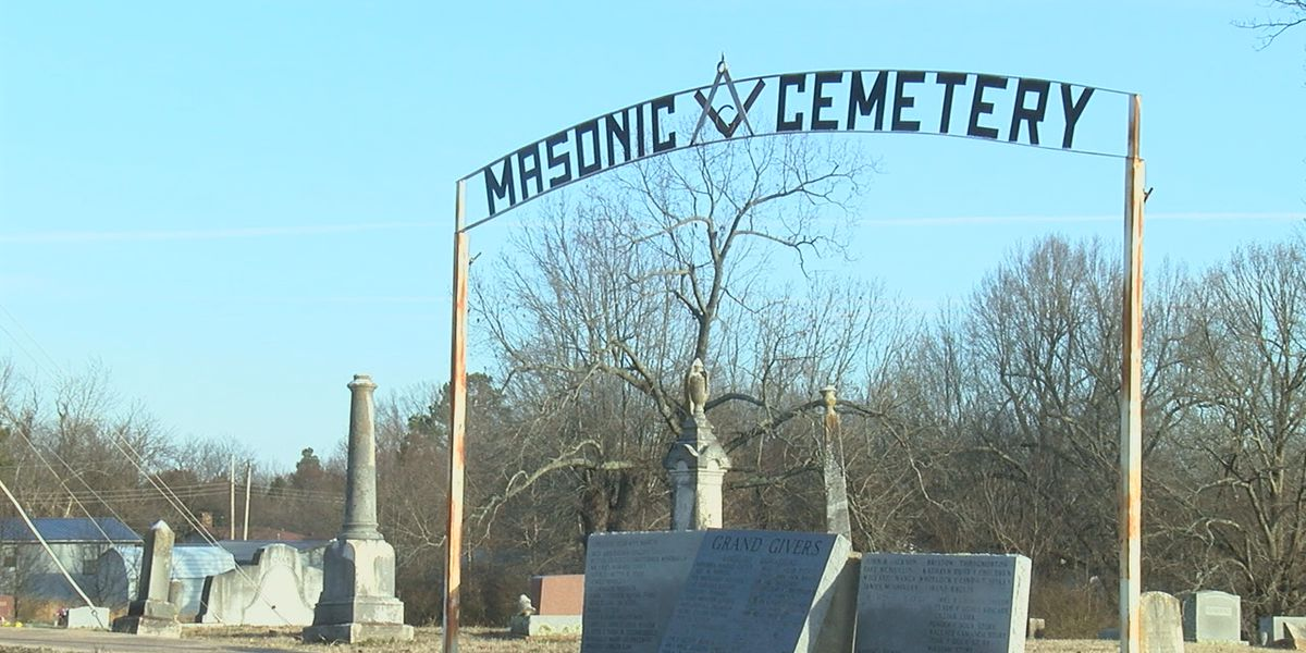 Community steps up to repair historic cemetery