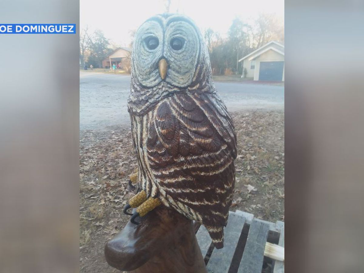$2,000 crafted owl stolen from Independence Co. man