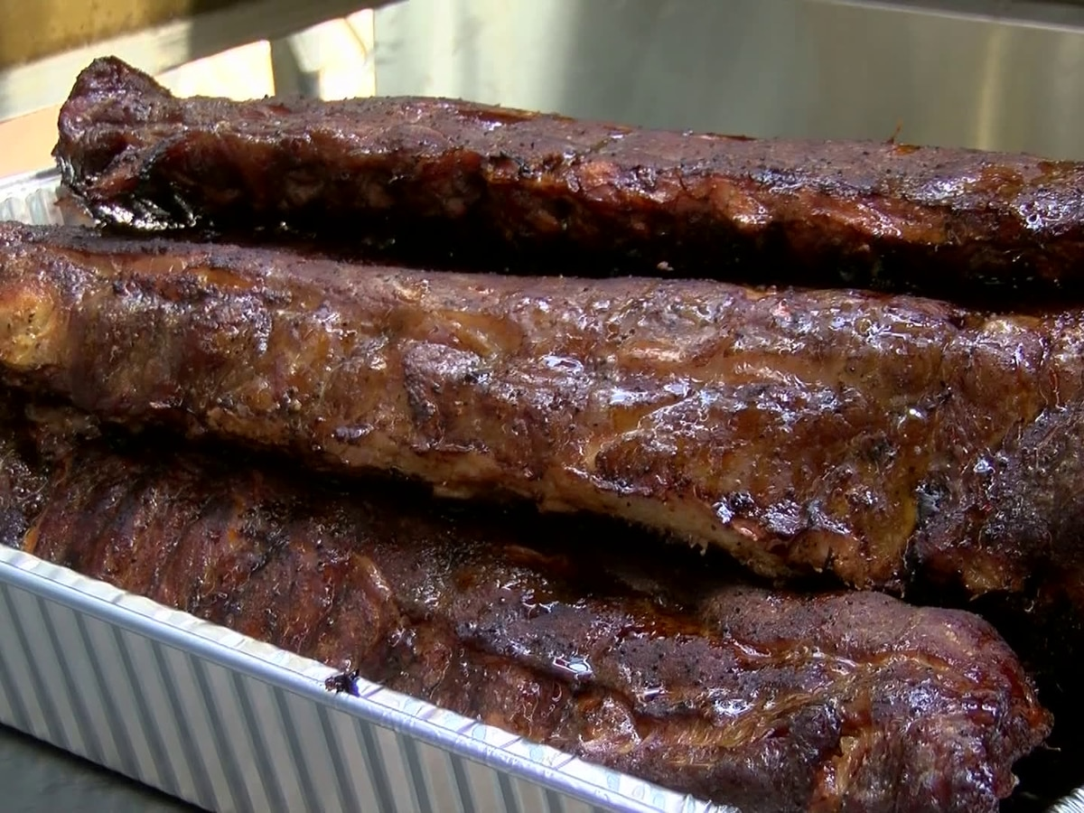 Gates open for World Championship Barbecue Cooking Contest
