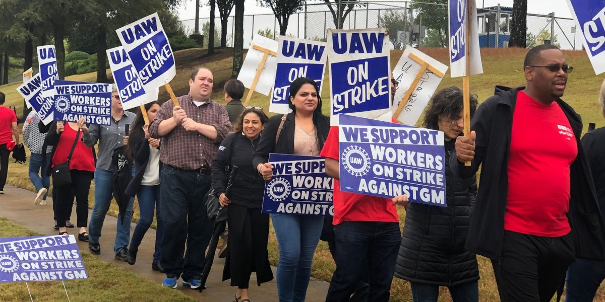 GM strike enters 4th week with support from another union