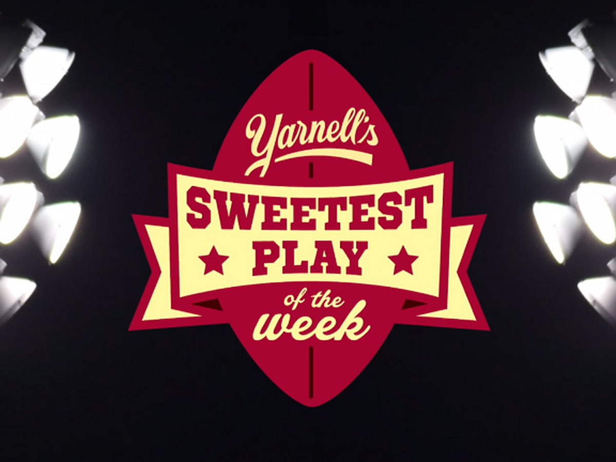 Vote for the Yarnell's Sweetest Play of the Week (10/19)