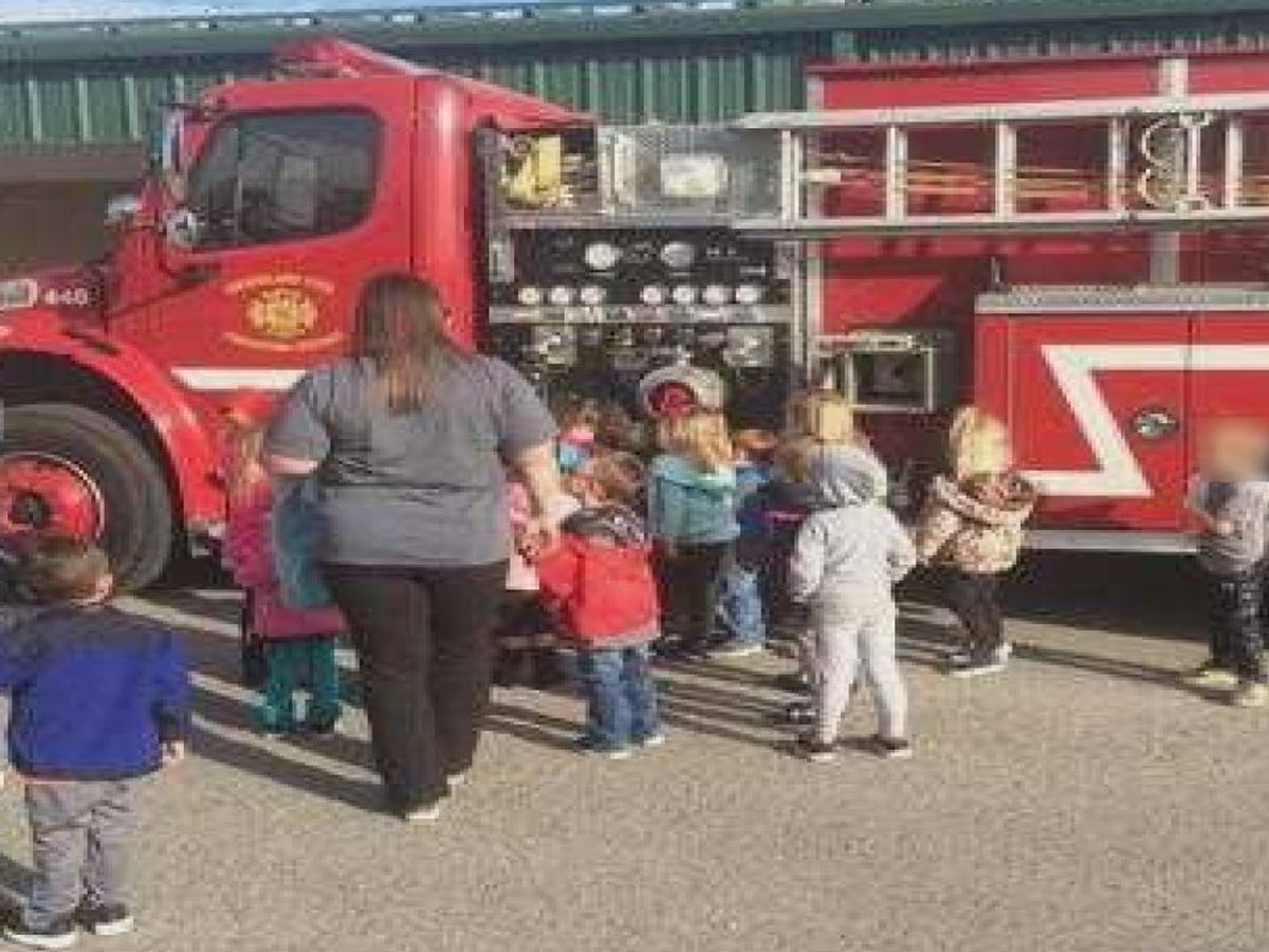 Firefighters fight for children