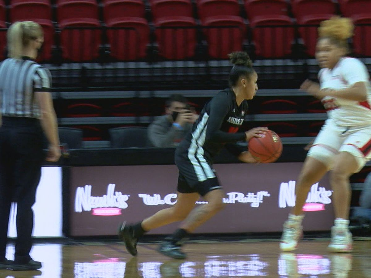 Arkansas State women drop 2nd straight to Louisiana