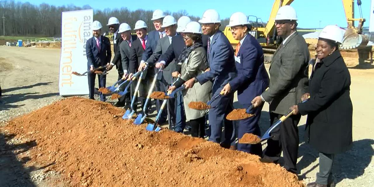 Amazon breaks ground on state-of-the-art fulfillment center in Raleigh