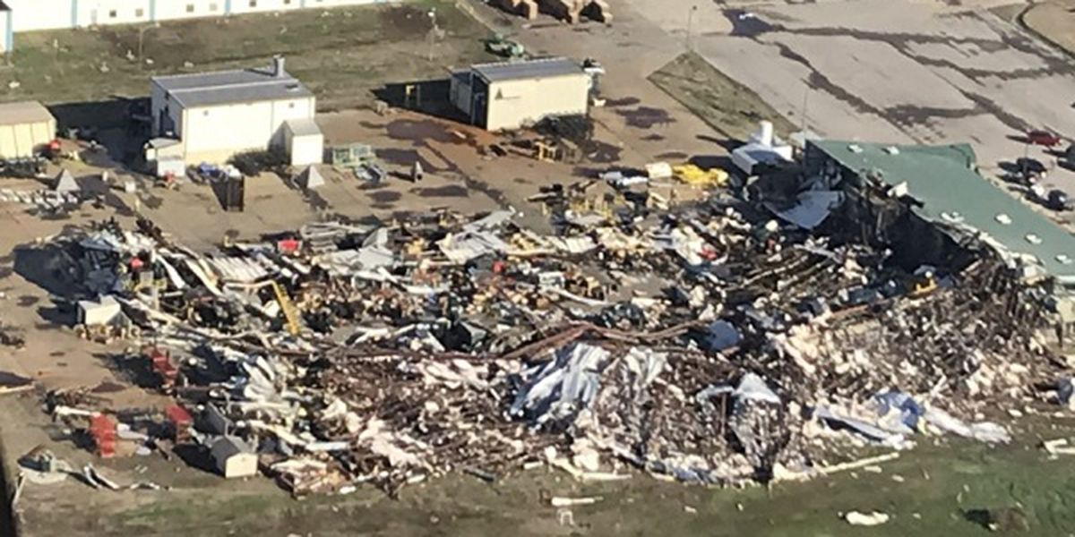March 30: Clean up continues following Saturday's EF-3 tornado