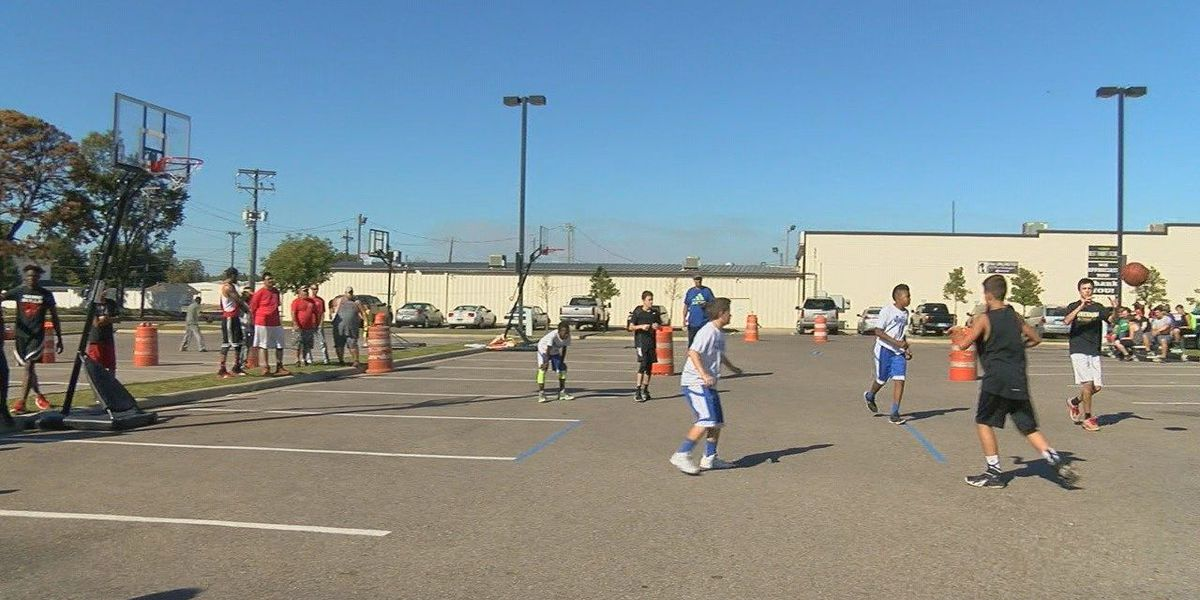 Young athletes hooped for a future