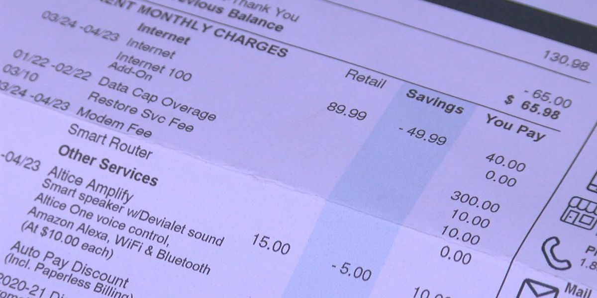 Jonesboro man pushes for other service options after 'outrageous' Suddenlink bill