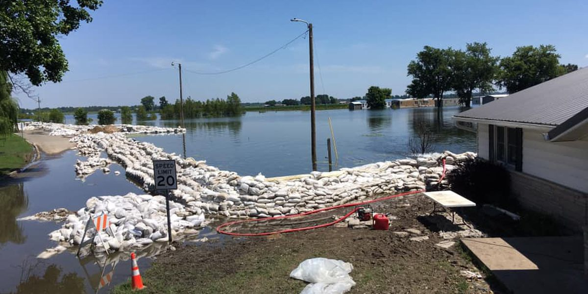 It's hot, but don't swim in floodwaters to cool off