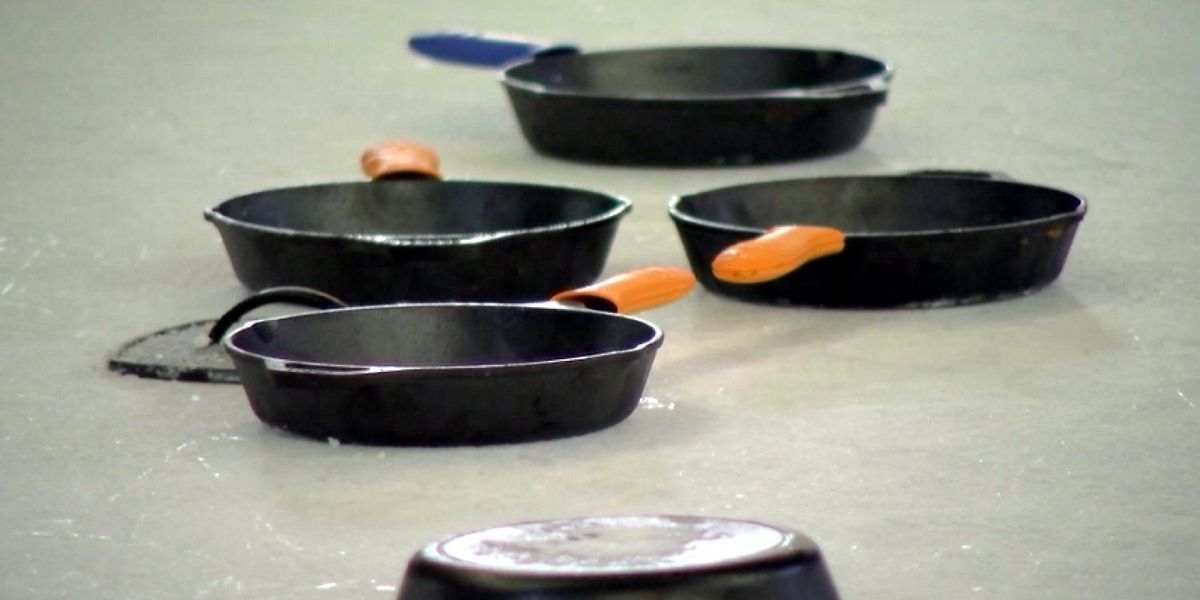 Skillet curling: Cast iron cookware puts a new spin on curling in the South