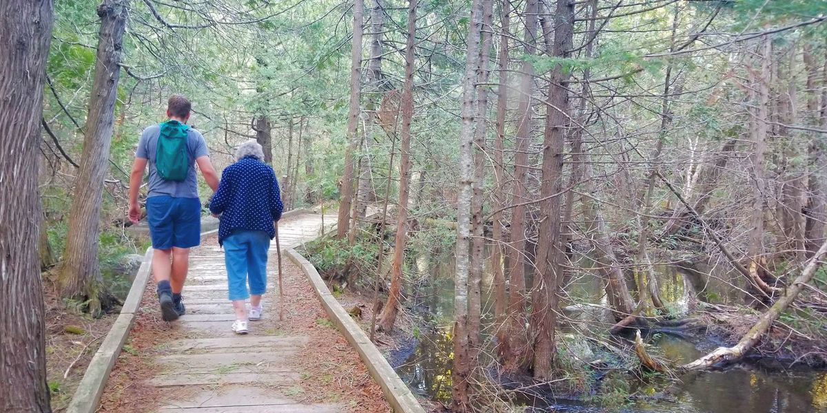 Grandmother and grandson more than halfway finished visiting all national parks in the US