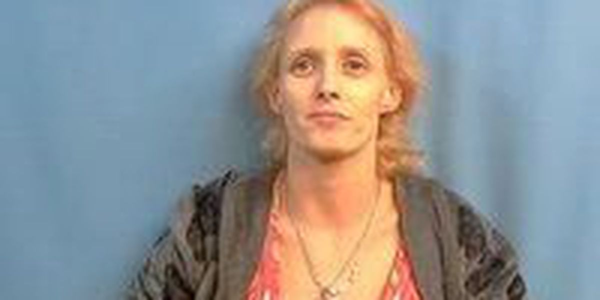 Woman arrested after chase
