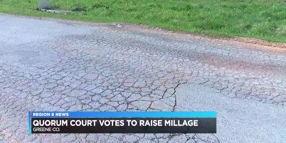 Millage increase will fund county road maintenance