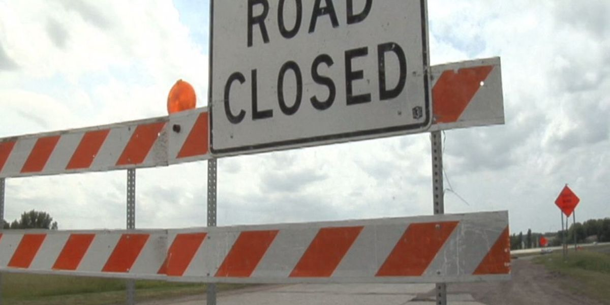Portion of CW Post Road closed
