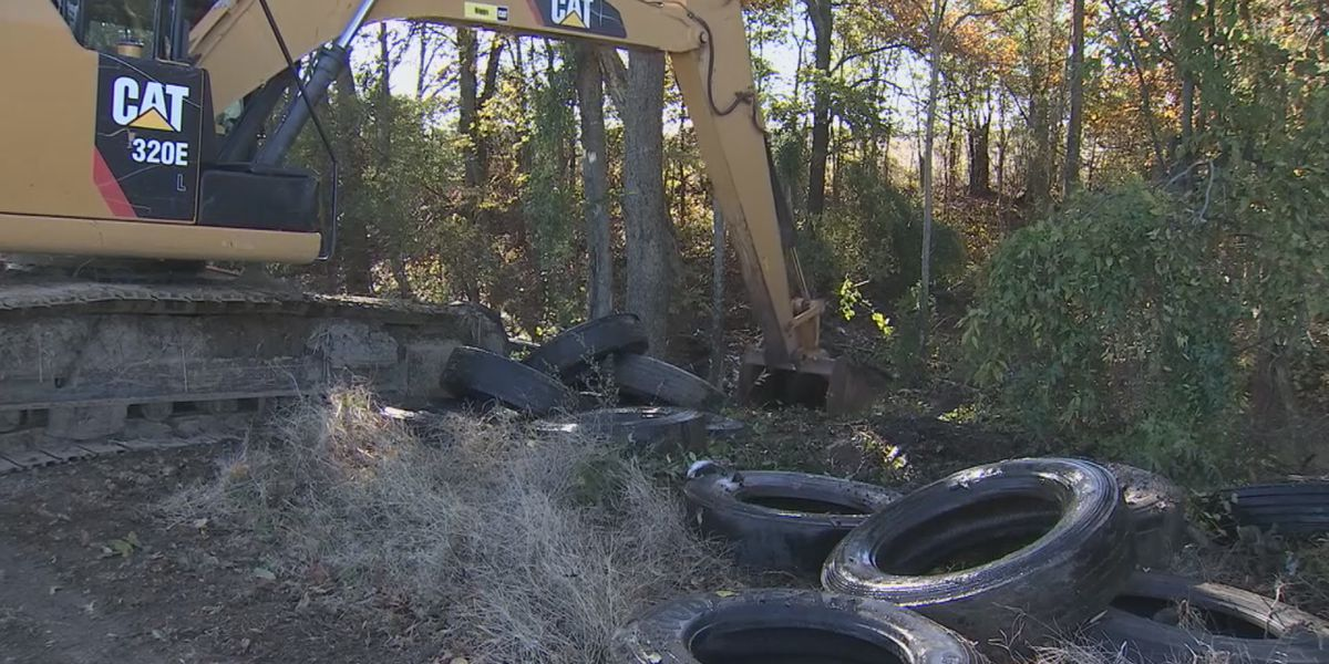 Man arrested for illegally dumping nearly 100 tires