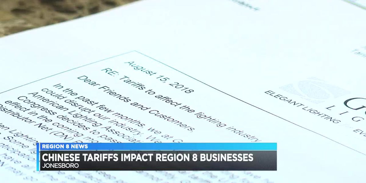 Chinese tariffs impact Region 8 business