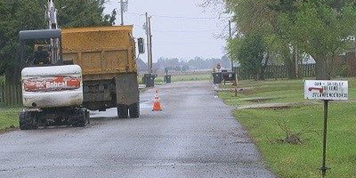 City works on drainage project