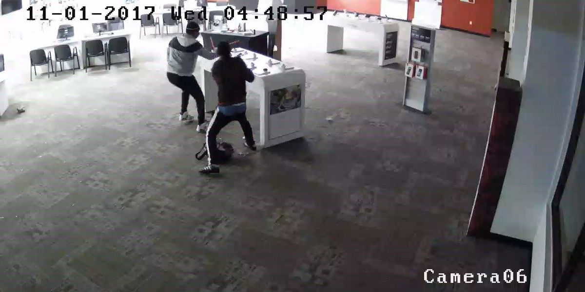 JPD, PPD investigating burglary at wireless phone stores