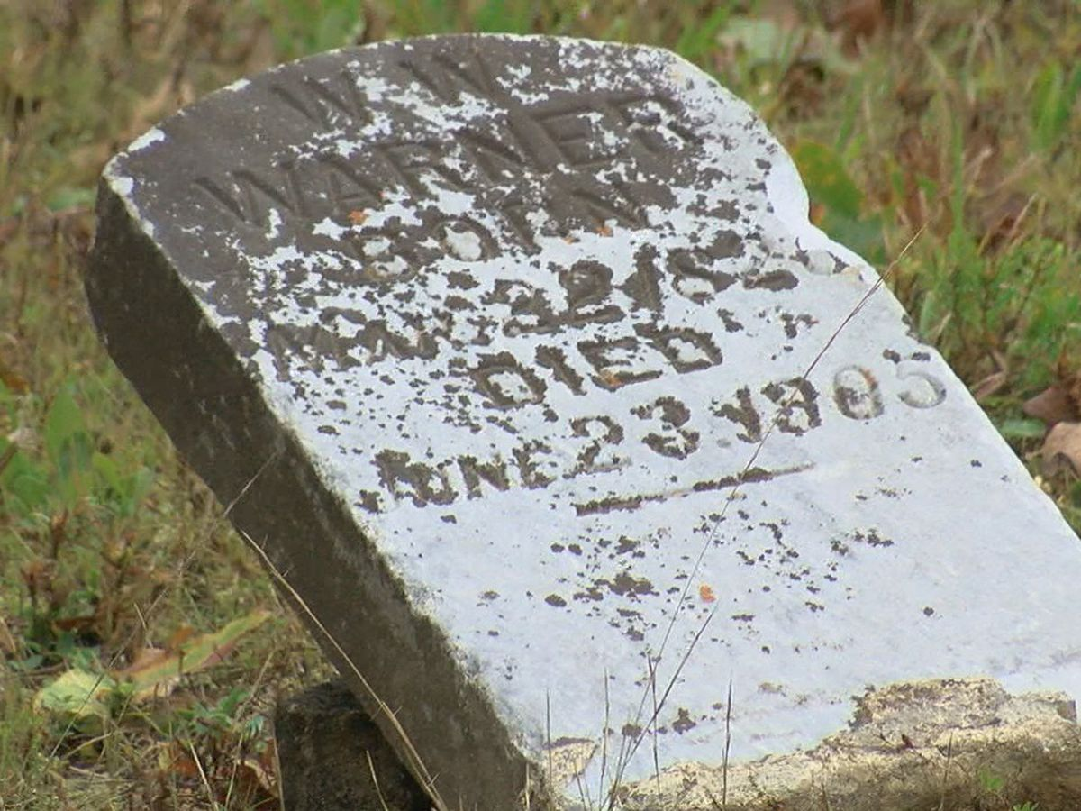 Facebook post helps return stolen gravestone