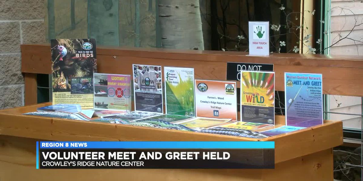 Forrest L. Wood Crowley's Ridge Nature Center hosts volunteer meet and great